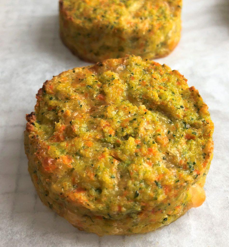 baked vegetable medallion