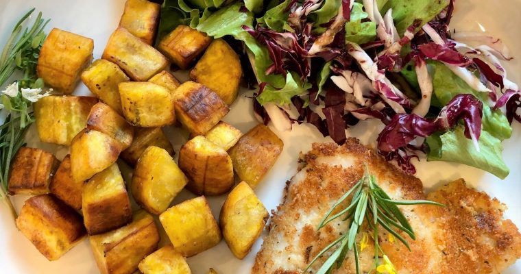 LECTIN-FREE HASH BROWNS – FRIED GREEN PLANTAINS