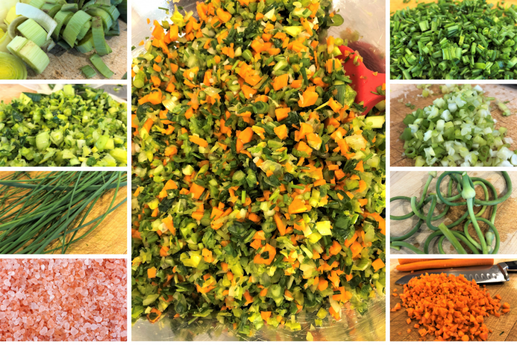 Fresh chopped herbs